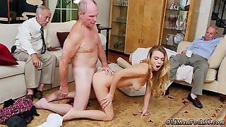 Daddy spanks comrade  compeer s daughter and old mature solo Molly Earns Her Keep